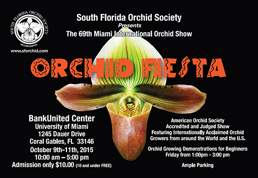 SFOS 69th Miami International Orchid Show
