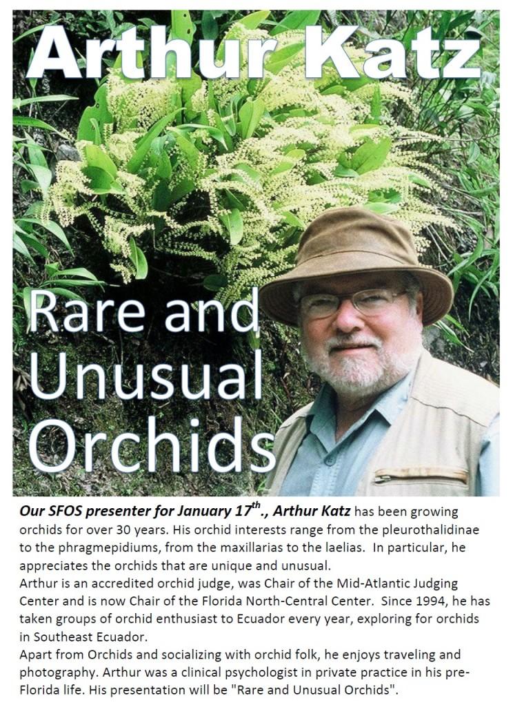 Arthur Katz bio and program info